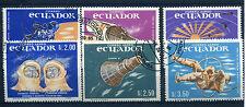 Ecuador 1208-1213 gestempelt (Weltraumfahrt) (949)