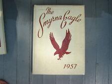 "1957 Smyrna High School Yearbook ""Smyrna Eagle"" Delaware"