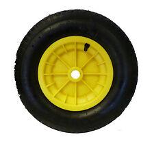 "YELLOW wheelbarrow 16"" / Trolley Wheel Pneumatic Tyre 4.80 / 4.00 - 8 Inner tube"