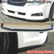 Vlimited Style Front Bumper Lip (Urethane) Fits 10-12 Subaru Legacy