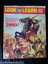 LOOK and LEARN # 442 - ZAPATA - JULY 4 1970