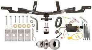 """TRAILER TOW HITCH FOR 2007-2009 TOYOTA CAMRY + WIRING KIT + BALLMOUNT + 2"""" BALL"""