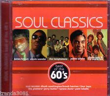 Soul Classics of 60s CD Best JAMES BROWN STEVIE WONDER JACKIS WILSON Rare
