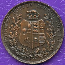 Vintage Toronto School Board 4 Year Good Coduct Coin Token 35 mm Diameter