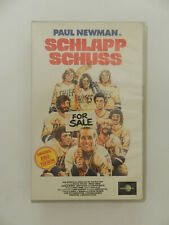 VHS Video Kassette Schlapp Schuss Paul Newman