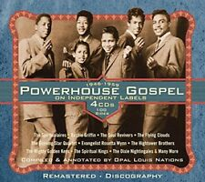 Powerhouse Gospel On Independent Labels 19461959 [CD]
