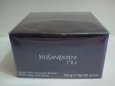 YSL Yves Saint Laurent Nu Savon Black Soap with case 150g (5.2 oz) Sealed