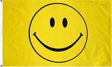 3x5 Smile Smiley Face Happy Face Flag 3'x5' Banner Brass Grommets A