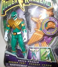 "GREEN DINO FLYER 4"" figure AWESOME Power Rangers mighty morphin 2010 MOC SEALED"