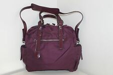 FRANCESCO BIASIA Ladies Plum Burgundy Handbag Bag New £180 FREE P&P