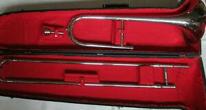 Amati Kraslice Zugposaune mit Koffer, gebraucht