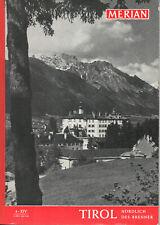 Merian, 4 - XIV (April 1961): Tirol - nördlich des Brenner
