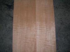 Fiddleback Anigre Wood Veneer. 5.5 x 30.5, 11 Sheets.