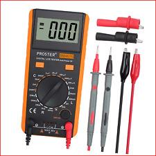 Proster Lcr Meter Lcr Multimeter Tester For Capacitance Resistance Inductance