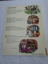 Jonathan Bing Grade School Poster Beatrice Curtis Brown 30240 Poetry VNTG