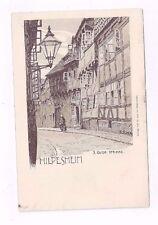 GERMANY antique udb post card Hildesheim Qver Strasse Signed by Artist