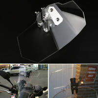 Motor Clip On Windshield Windscreen Extension Spoiler Fit For Kawasaki Versys