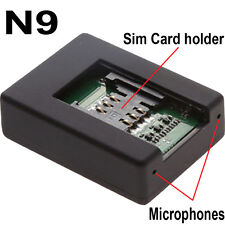 Mini Bug Gsm Wireless Spy Audio Listening Device Hear Sound On Phone Anywhere N9