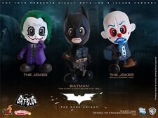 Hot Toys Cosbaby Batman Begins The Dark Knight set of 3 Joker