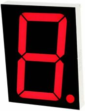 Large Seven Segment Display, Red 2.3 inch Digit