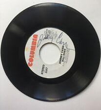 JOHNNY CASH Autographed Record