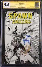 Spawn #221 Amazing Fantasy #15 B&W Sketch Variant CGC SS 9.6 1587928024