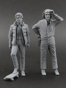 McFly & Brown (Back to the Future) Figure for 1:18 SunStar DeLorean