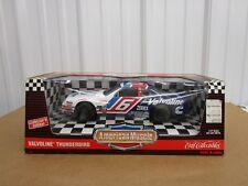 1:18 scale NASCAR Valvoline #6 Ford Thunderbird Ertl American Muscle diecast