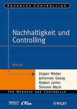 Weber-Nachhaltigkeit und Controlling BOOK NEW