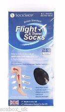 1 Pair Unisex Flight Travel DVT Compression Health Socks Size 6-8.5 uk, 39-42 eu
