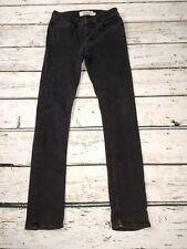 Mens Topman Stretch Skinny Black Jeans W30 L31 30R