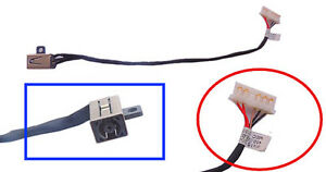 GENUINE DELL INSPIRON 14 15 POWER PORT DC JACK CABLE 450.03006.0001