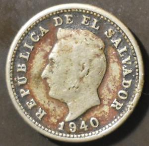 El Salvador  1940  1 Centavo Coin