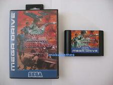 Advanced Military Commander (English) Sega Genesis NTSC Megadrive Mega Drive PAL