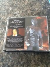 Michael Jackson - History Double Gold Cd Box Set Looks Mint 52 Page Booklet