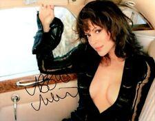 Autographed Alyssa Milano signed 8 X 10 photo super hot
