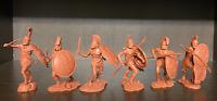 Antiguos griegos espartanos Soldados de juguete Publius de caucho plástico 1:32