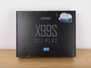 MSI X99S SLI PLUS, LGA 2011-v3 Intel X99 DDR4 ATX Motherboard