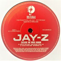 "Jay-Z – Excuse Me Miss Again 12"" Vinyl PROMO"