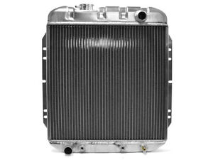 New 1963-65 Falcon Radiator 6-Cylinder Comet 65-66 Mustang Aluminum 3-Row Ford
