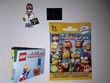 Lego 71009 Minifigures  Simpson Série 2 - Dr Julius Hibbert minifig