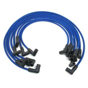 Pertronix Spark Plug Wire Set 808311; Flame Thrower MAGx2 8mm Blue for Chevy SBC