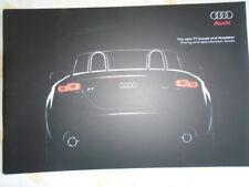 Audi TT Coupe & Roadster brochure Jan 2007