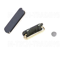 GENUINE IPHONE 5 5s 5SE BLACK TOP POWER SWITCH BUTTON+INNER CONTACT REPAIR PART