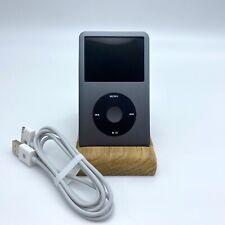  Apple iPod Classic 7th Upgrade iFlash SSD 256gb Black New Usb Mp3  ★★★★★