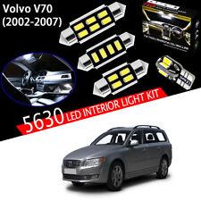 16pcs Xenon White 5630 LED For Volvo V70 EstateXC70 2002-2007 Interior Light Kit