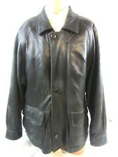 Lamb Leather Jacket, J. Park Collection, Mens Medium, Brown