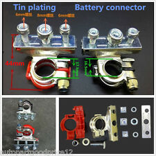2pcs 12V Leisure Battery Terminals Connectors Clamps Car Van Caravan Motorhome
