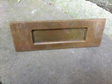 Vintage metal letter box 197mm x 67mm