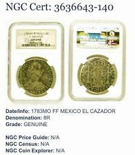 Circulated Silver NGC Certified Mexican Coins